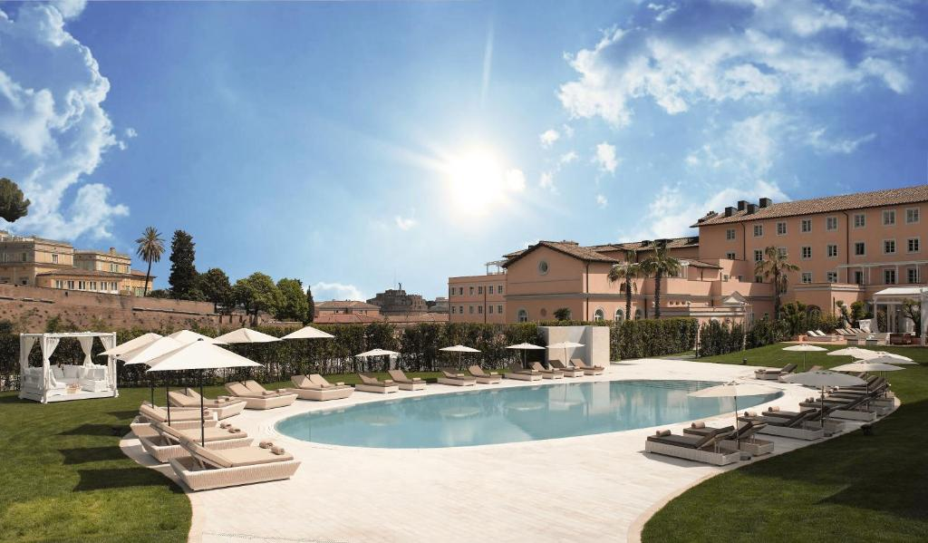 Hotel gran melia rome italy for Hotel roma booking
