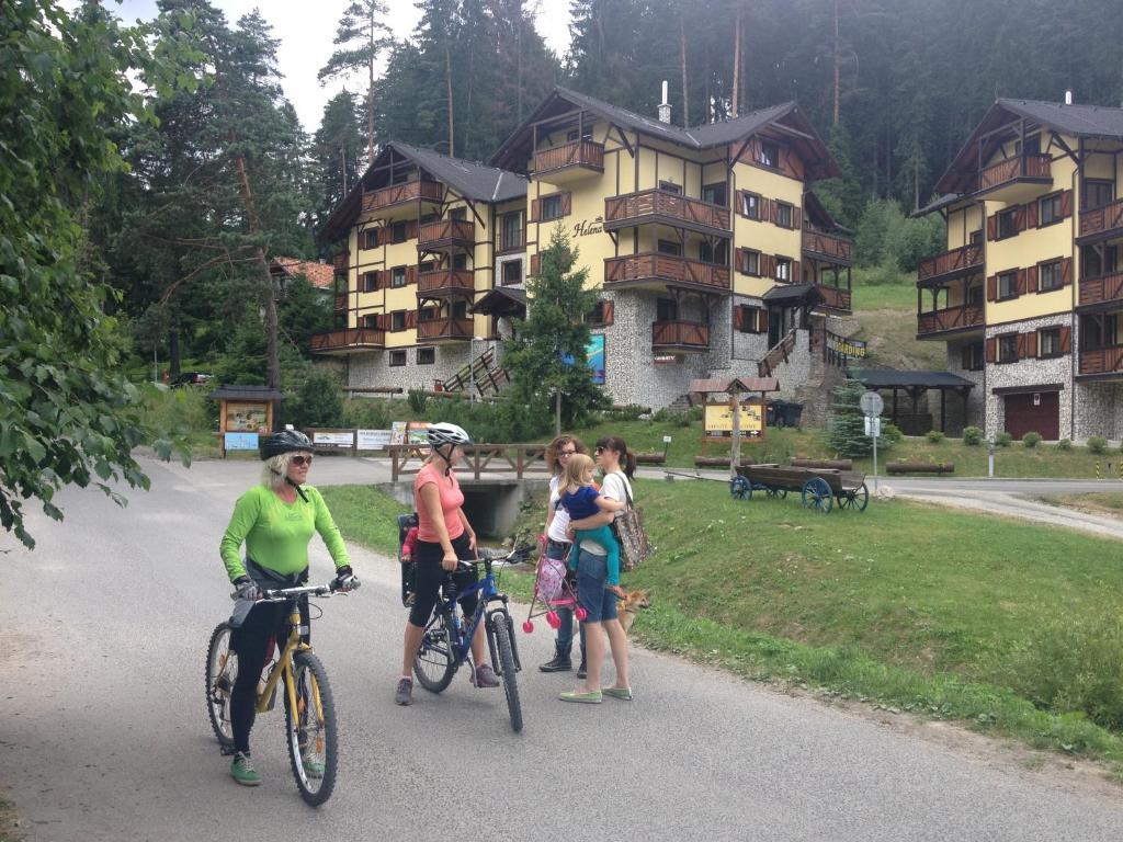 Jazda na bicykli v okolí ubytovania Vila Helena Hrabovo - Studio Helena 5