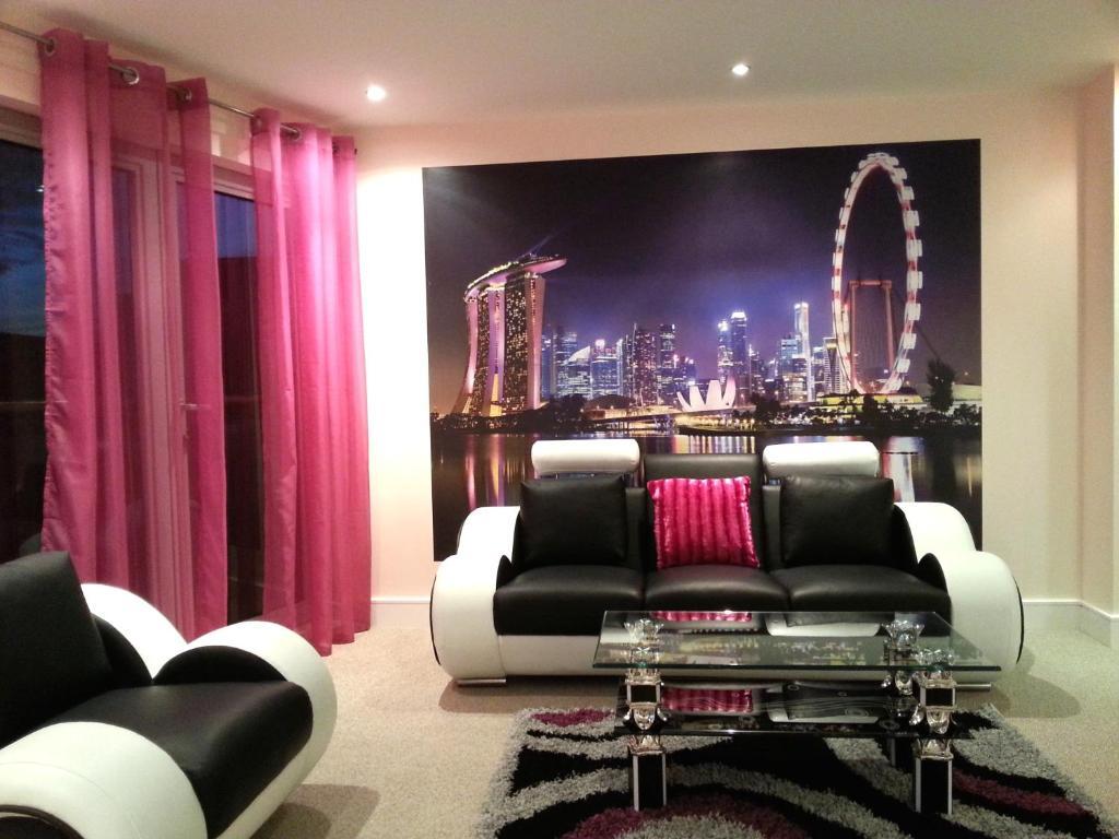 Living Room Nottingham apartment ng1 city living, nottingham, uk - booking