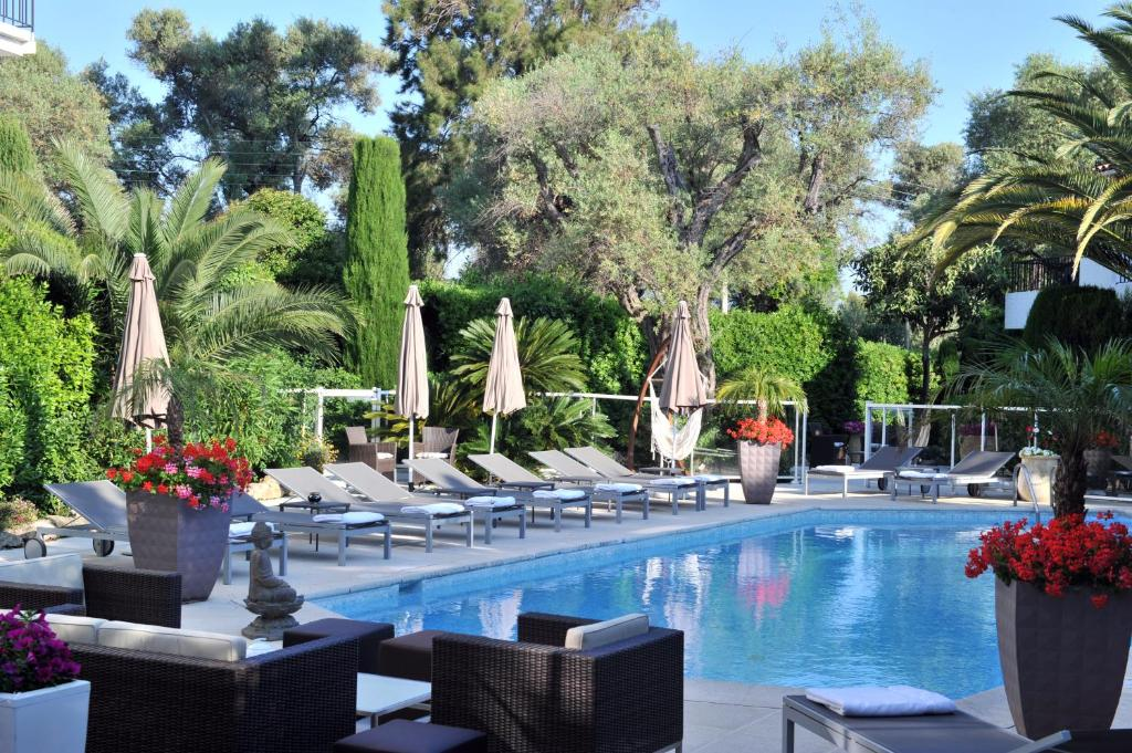 La villa cap d 39 antibes juan les pins france for Hotels juan les pins