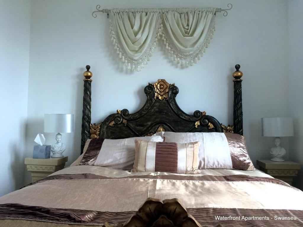 Bedroom Furniture Swansea Waterfront Apartments Swansea Uk Bookingcom