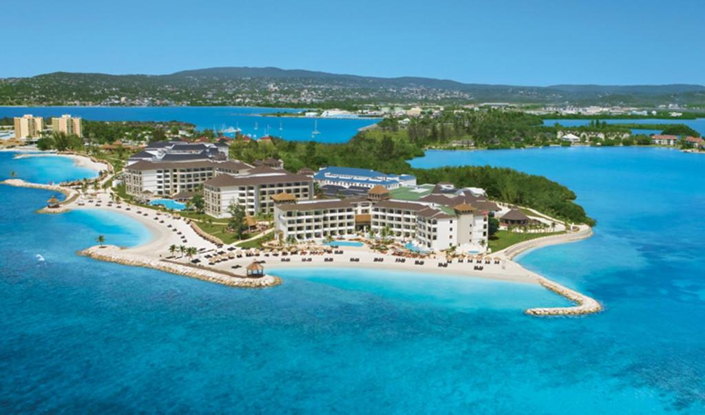 A bird's-eye view of Secrets Wild Orchid