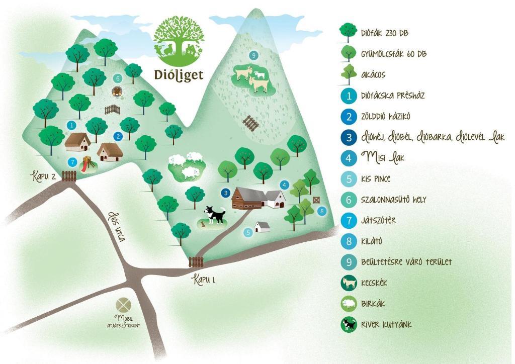 magyarország térkép lovasberény Dióliget   Diófácska Présház, Lovasberény – 2018 legfrissebb árai magyarország térkép lovasberény