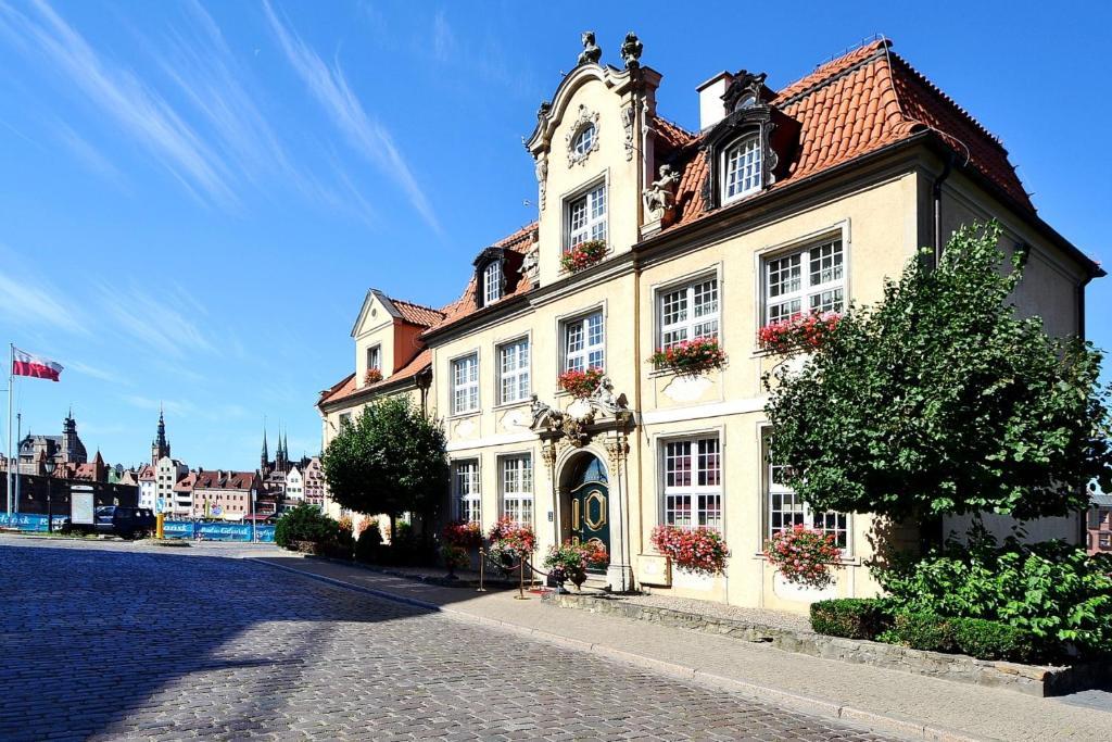 ホテル ポデヴィルス(Podewils Old Town Gdansk)