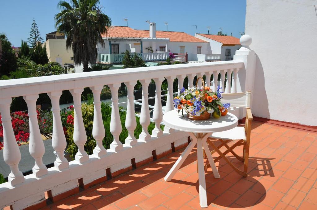 A balcony or terrace at Casa Lea