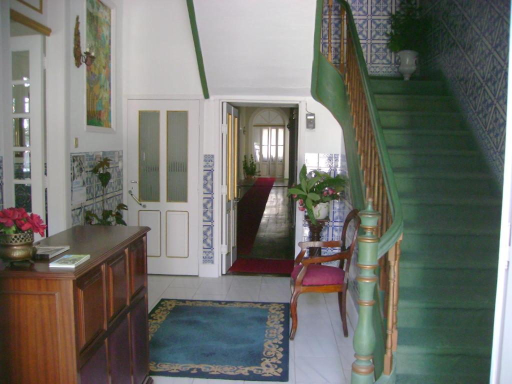 The lobby or reception area at Residencial Choupal