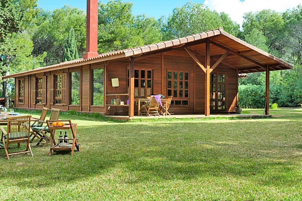 Casa o chalet la casa del bosque espa a d nia - Casas el bosque ...