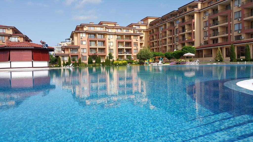 The swimming pool at or near Magic Dreams Apartments