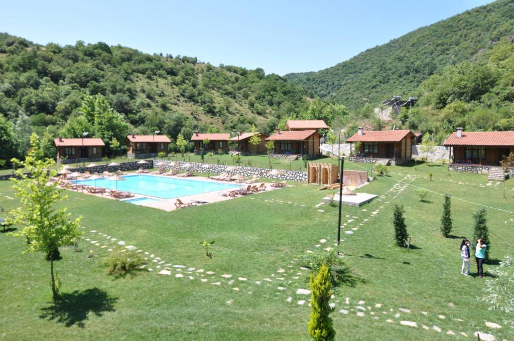 A view of the pool at Bagdat Resort or nearby