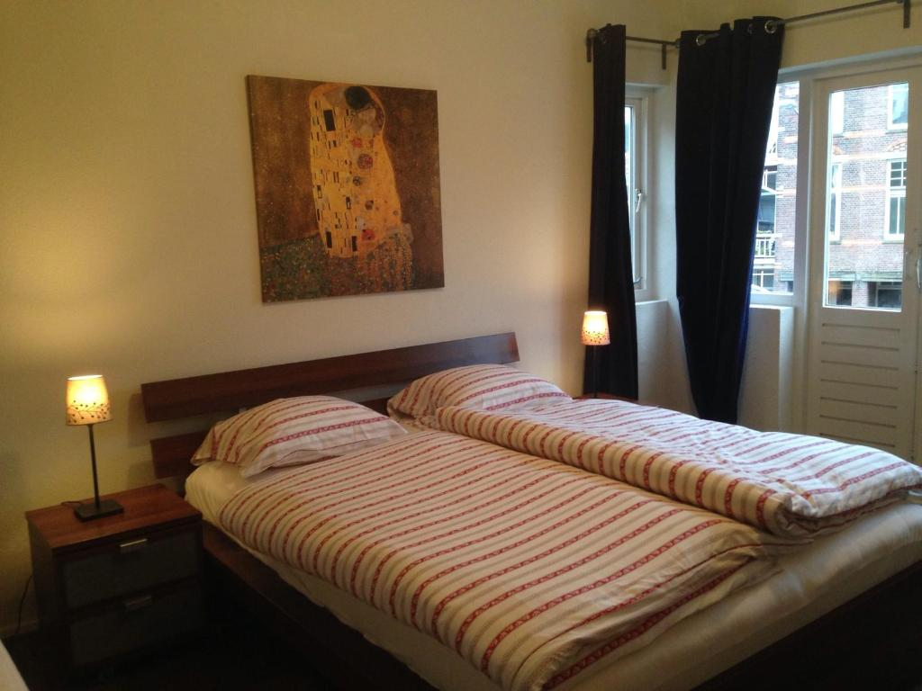 A bed or beds in a room at Casa Bruti