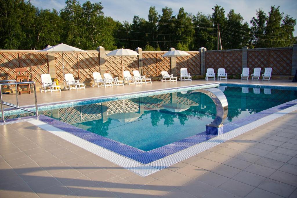 The swimming pool at or near Taganai