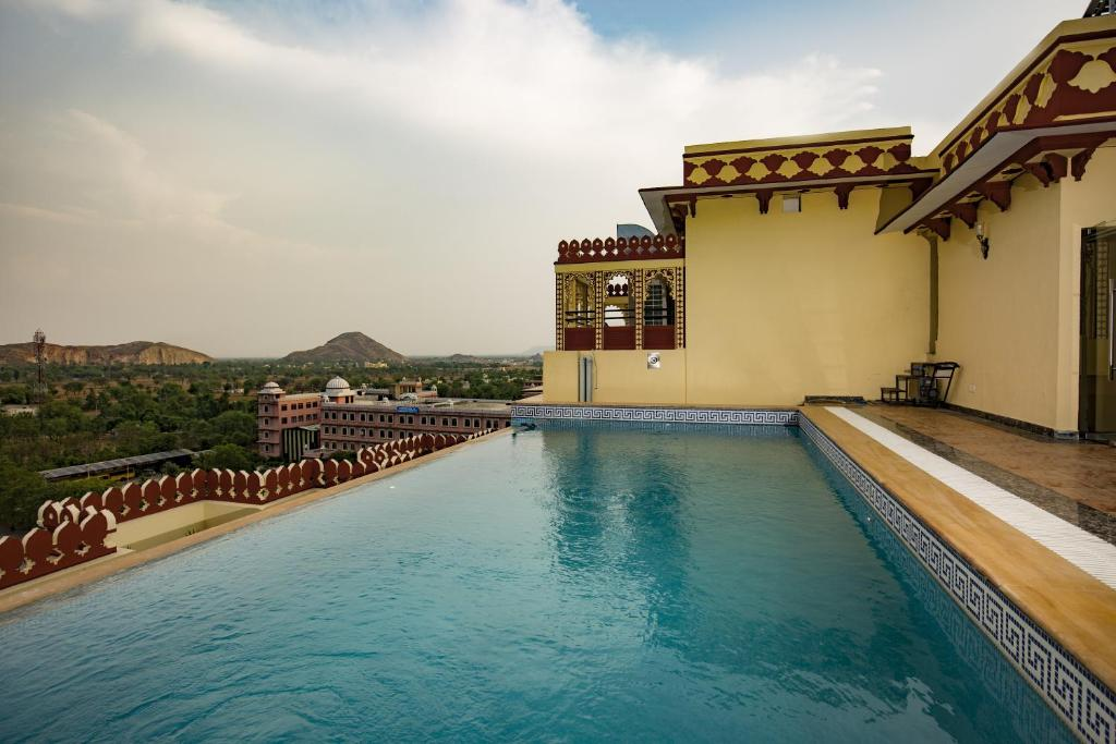 The swimming pool at or near Umaid Haveli Hotel & Resorts