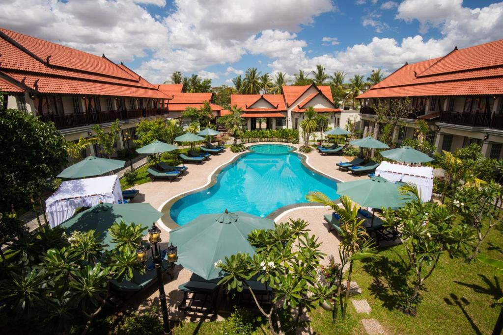 A view of the pool at Spring Palace Resort Hotel or nearby