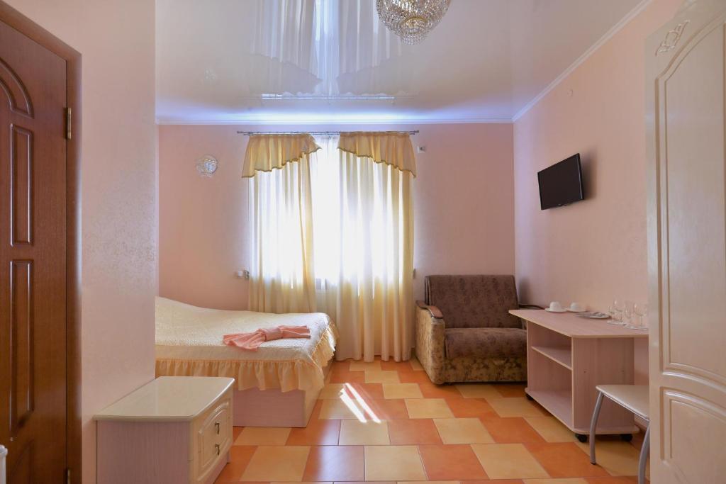 Гостиная зона в Отель №1