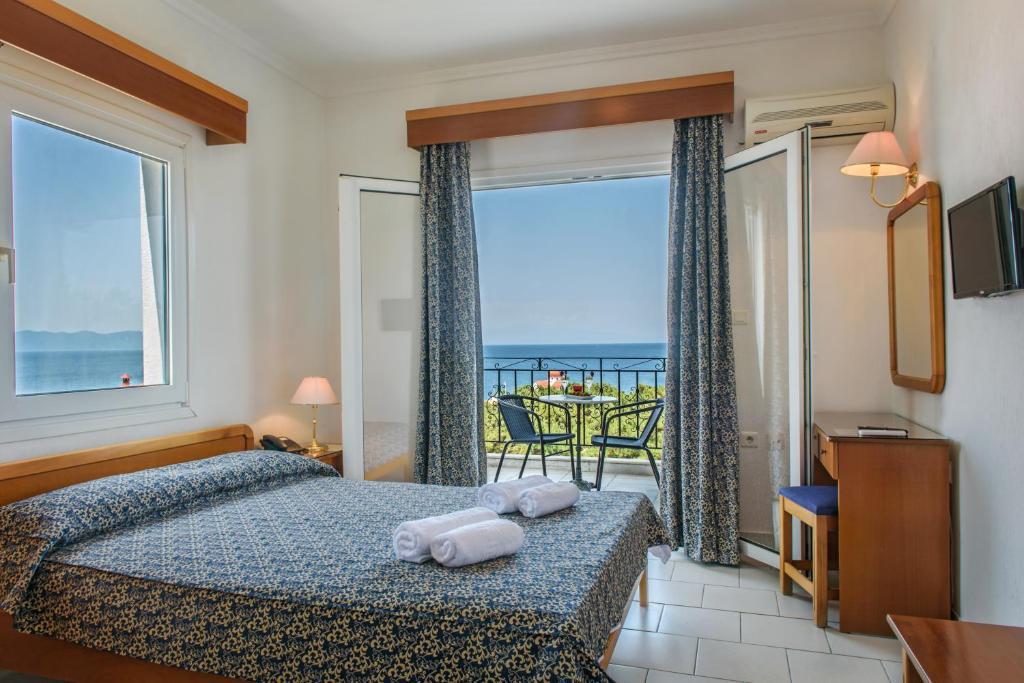 Остров Афон апартаменты у моря недорого