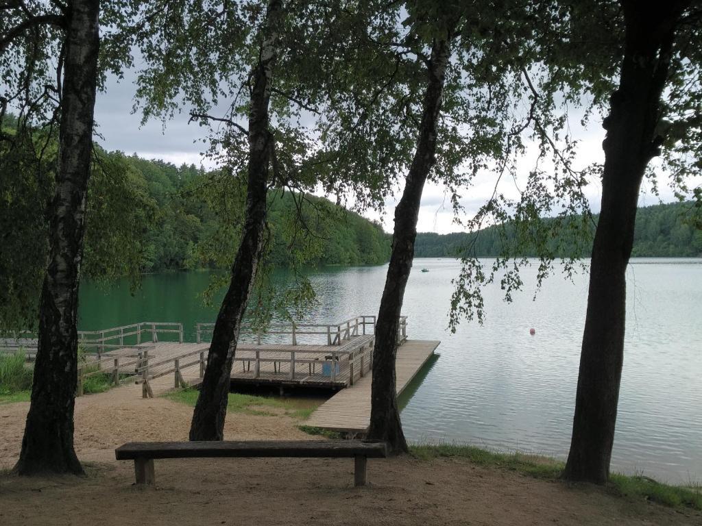 Namai prie ezero