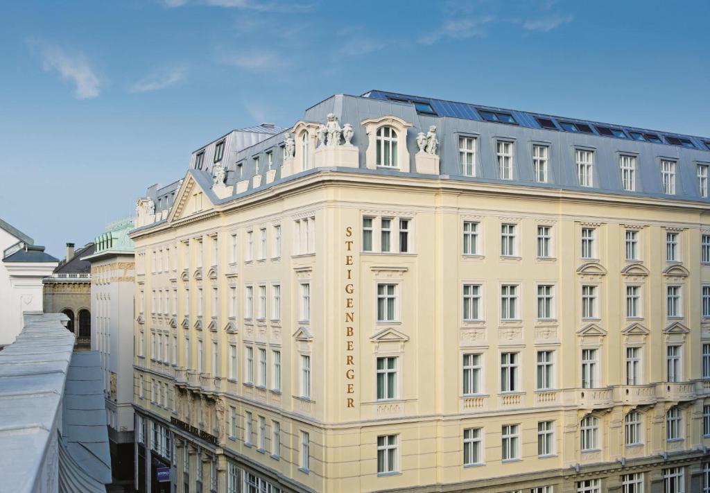 シュタイゲンベルガー ホテル ヘレンホフ(Steigenberger Hotel Herrenhof)