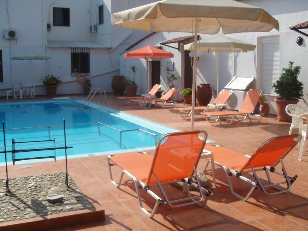 The swimming pool at or near Iliaktida Apartments