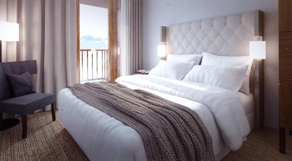 Appart U0026 39 Hotel Odalys Prestige Eden  France Arc 1800