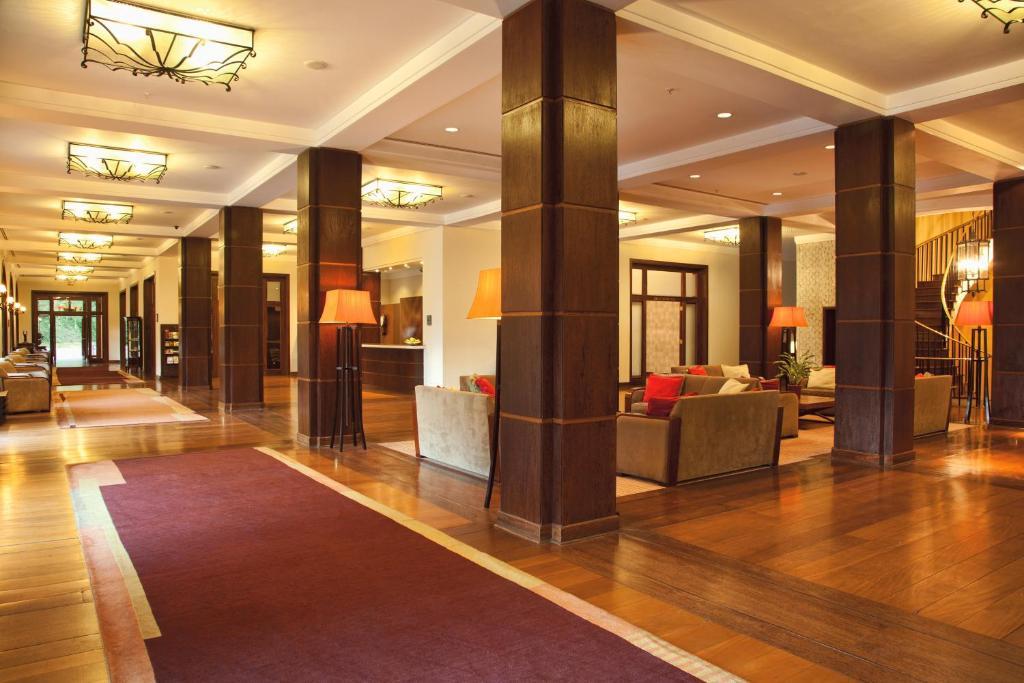 Hol lub recepcja w obiekcie Grande Hotel Campos do Jordao