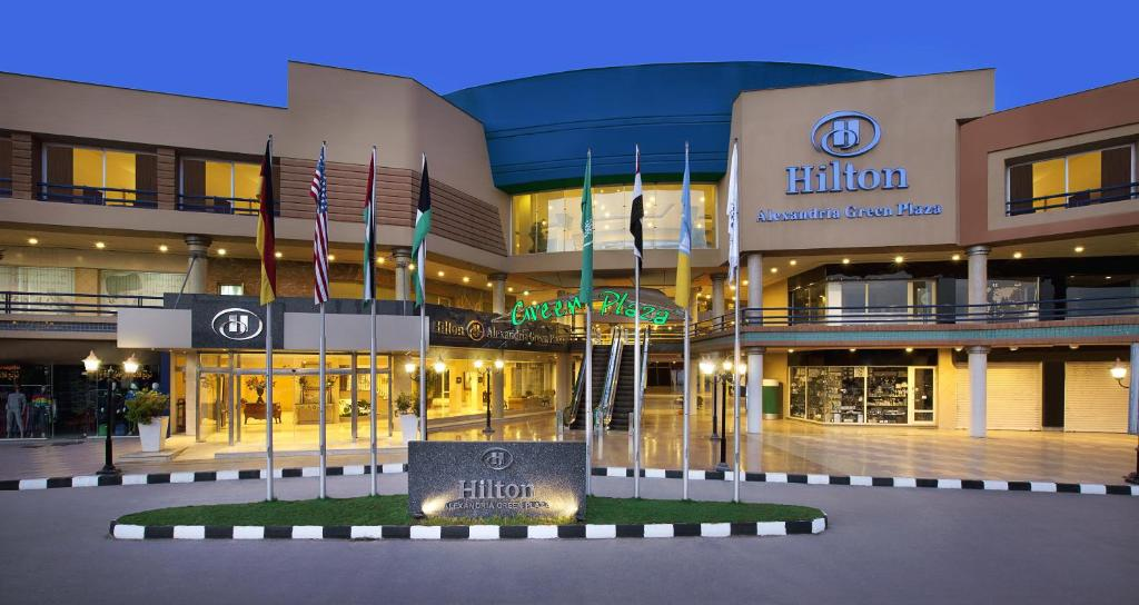 Hilton alexandria hotel egypt for Booking hotels