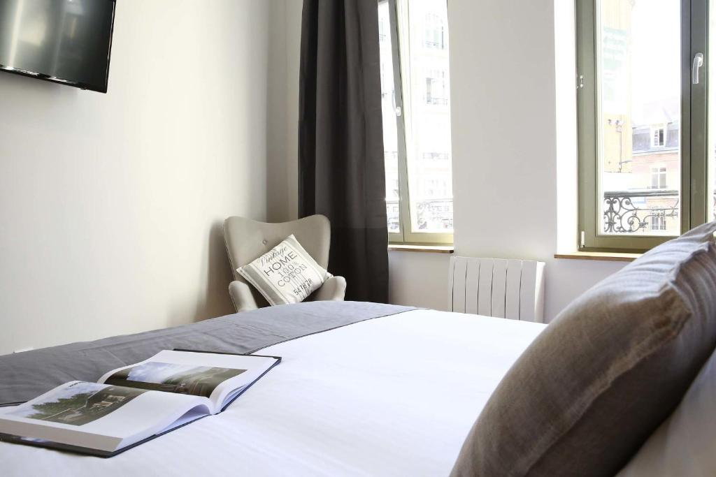 Flandres appart h tel france lille for Appart hotel tarif