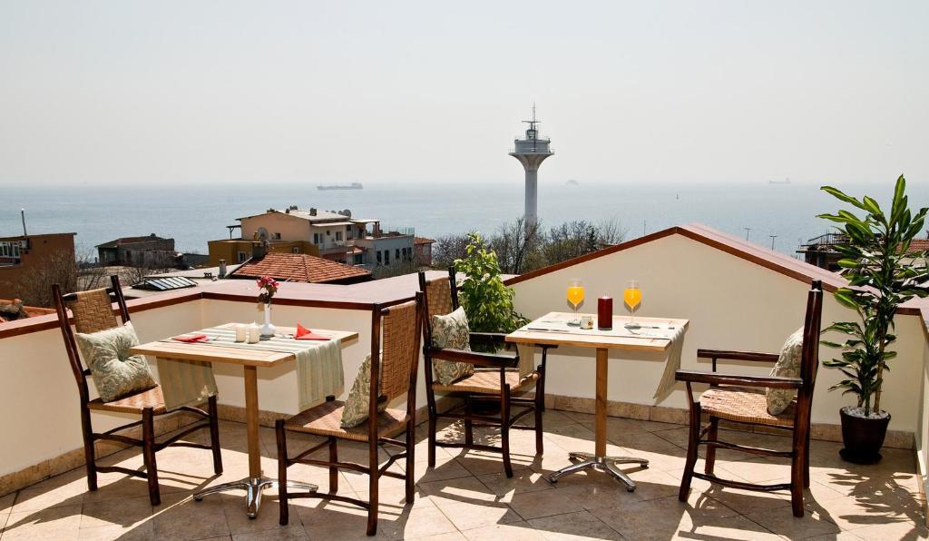 Ресторант или друго място за хранене в Hotel Sphendon