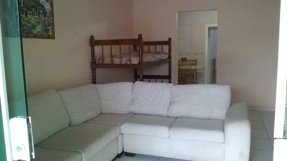 A seating area at Apartamentos Penha