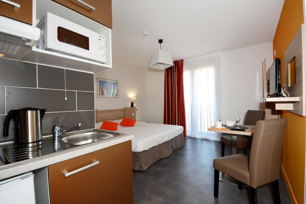 Odalys appart h tel terra gaia s te tarifs 2018 for Appart hotel tarif