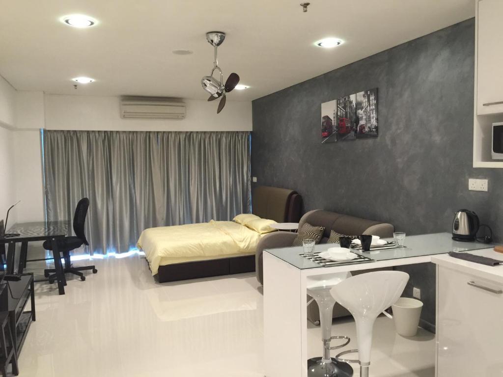 Apartment Room For Rent In Kuala Lumpur apartment studio at mercu summer suites, kuala lumpur, malaysia