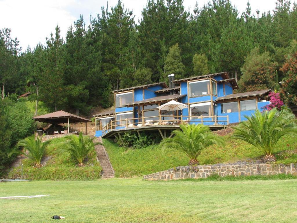 Vacation home hermosa casa en lago vichuquen chile for Booking casas