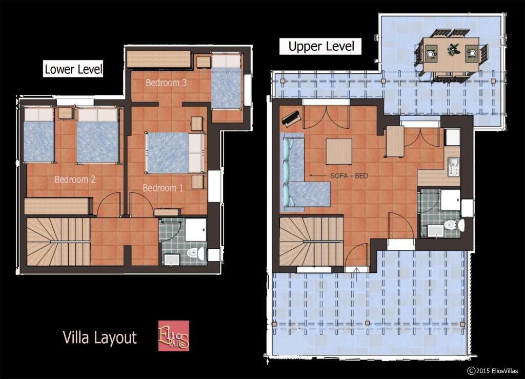 elios villas gr ce ville de skiathos. Black Bedroom Furniture Sets. Home Design Ideas