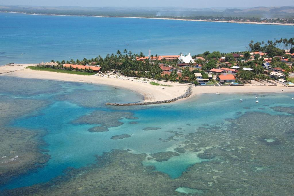 A bird's-eye view of Serrambi Resort