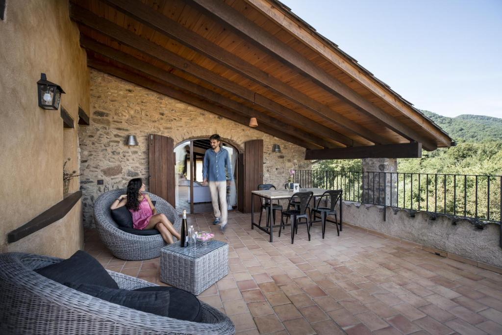 hotels with  charm in la vall de bianya  27