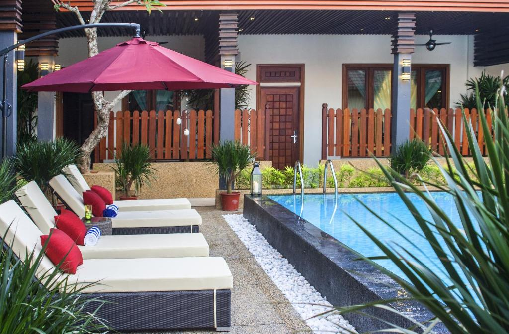 The swimming pool at or near Telaga Terrace Boutique Resort