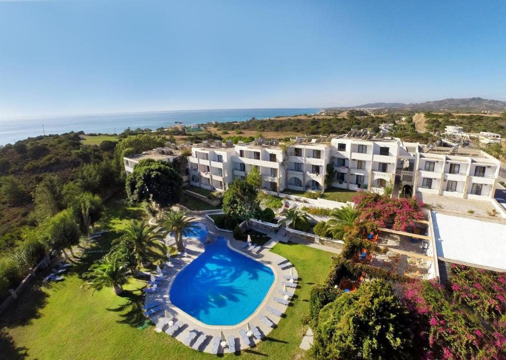 A view of the pool at Ekaterini Hotel or nearby