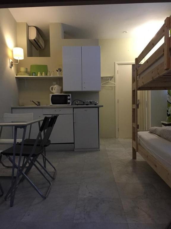 A kitchen or kitchenette at Hostel Archipel