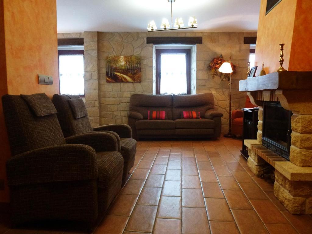 Lounge nebo bar v ubytování Casa Rural Erburu