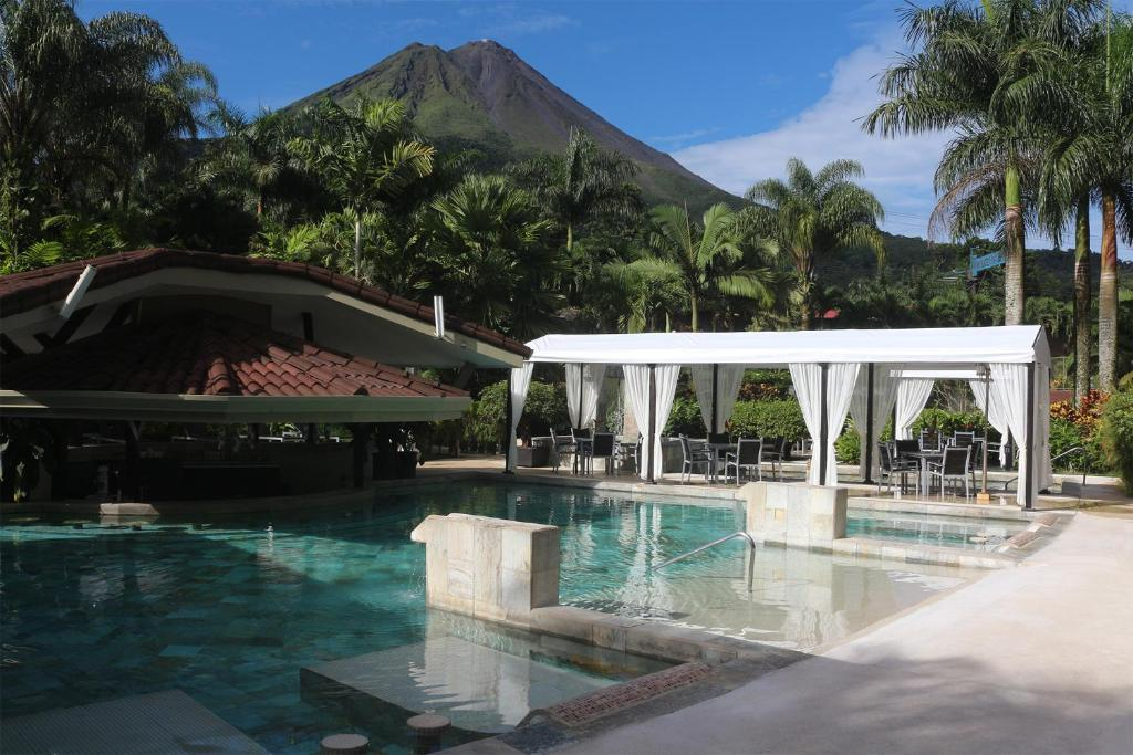 The swimming pool at or near The Royal Corin Thermal Water Spa & Resort