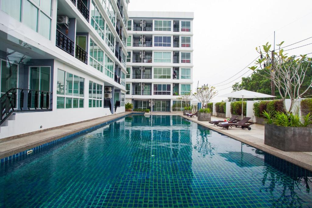 The swimming pool at or near Rang Hill Residence