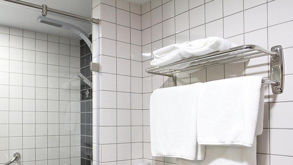 Ванная комната в Отель Центральный Барнаул