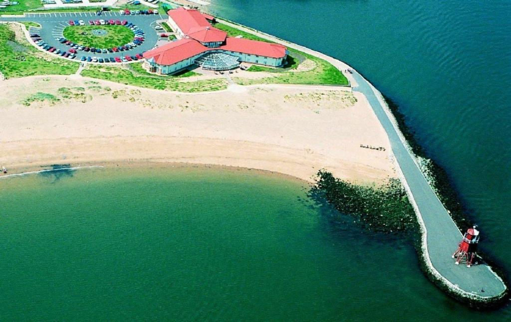 Bird's-eye view ng The Little Haven Hotel