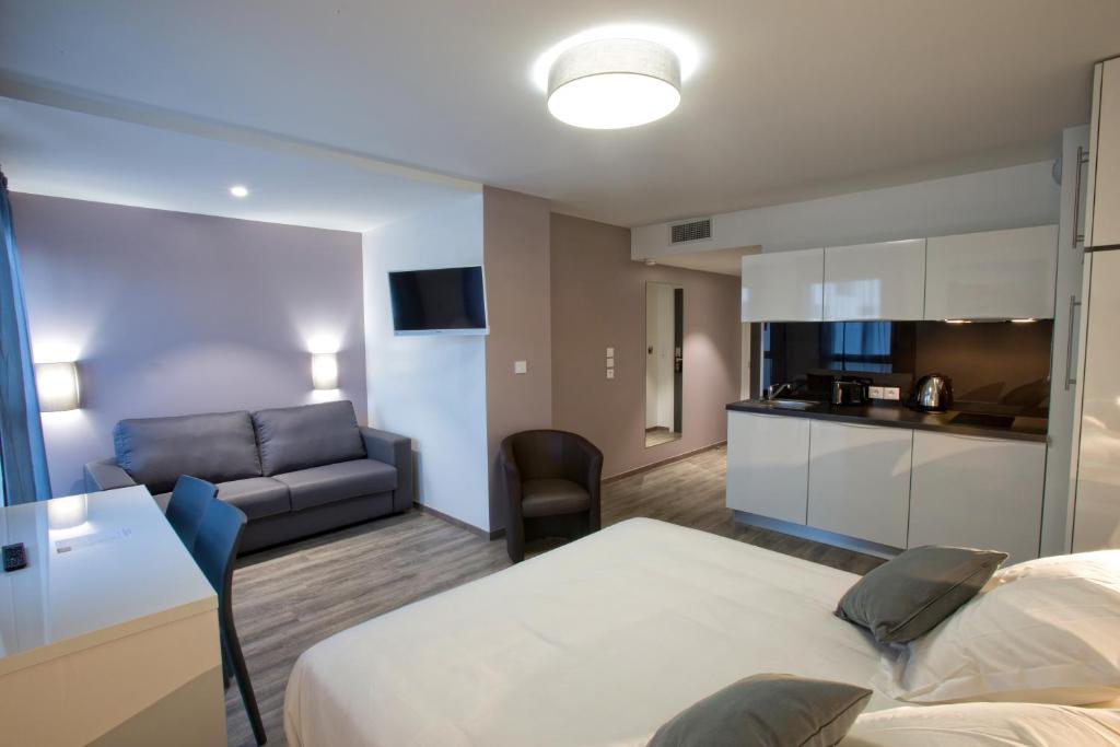 All suites appart h tel pessac avec des avis for Appart hotel tarif
