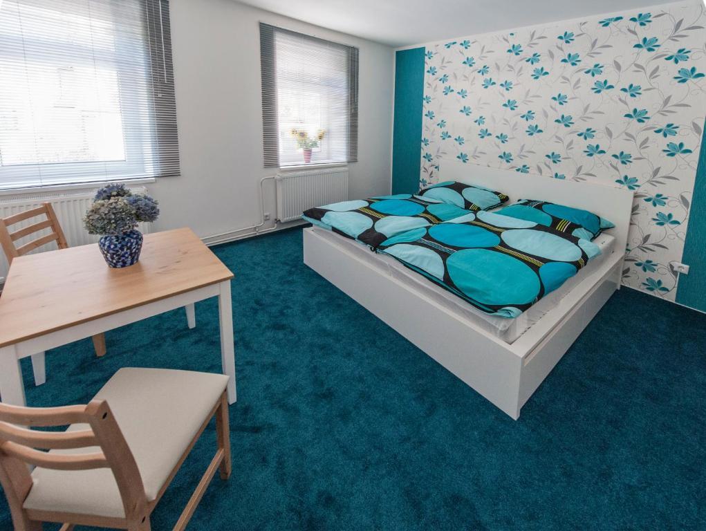Ein Bett oder Betten in einem Zimmer der Unterkunft B&B Mediterran Nassau