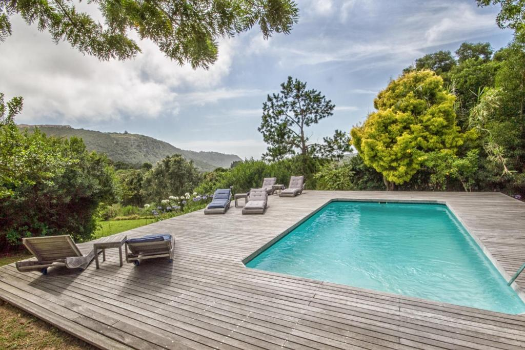 The swimming pool at or near Piesang Valley Lodge