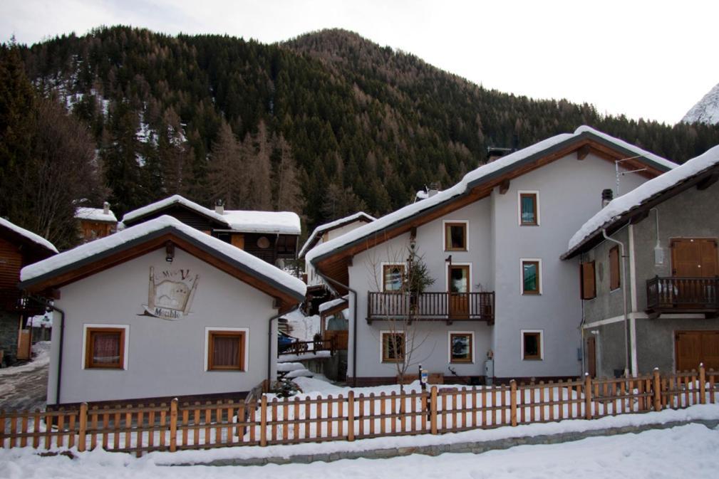 Meublè Lo Miete Viei during the winter