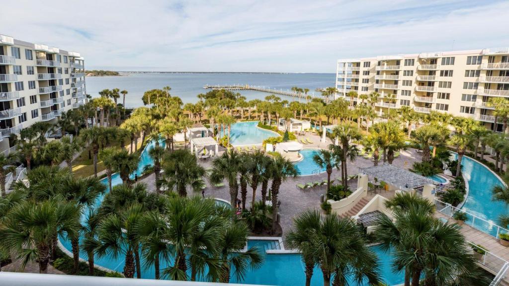 Destin West Beach And Bay Resort Map on