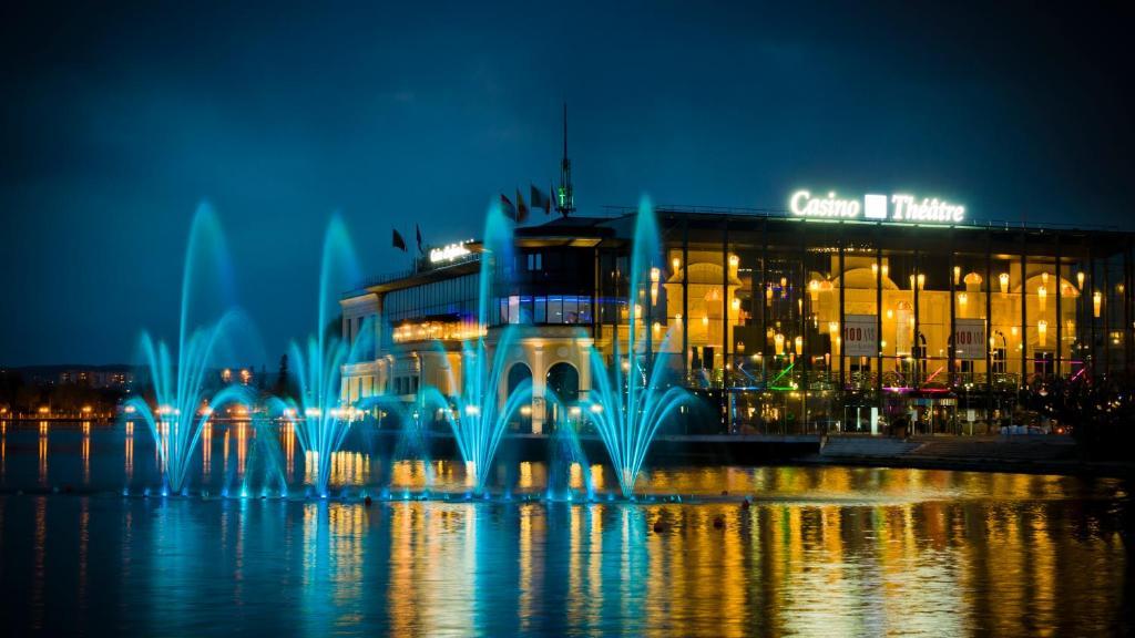 Hôtel Barrière LHôtel Du Lac EnghienlesBains Tarifs - Salle de sport enghien les bains