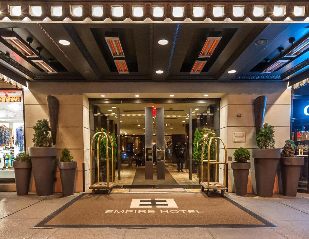 reservation hôtel new york