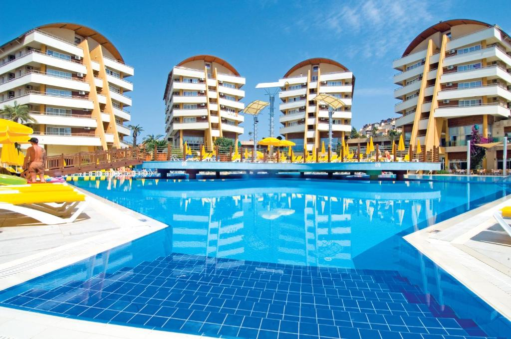 Alaiye Resort Spa Hotel Alanya Avsallar Turkey Booking Com